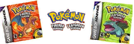 Pokemon LeafGreen and FireRed